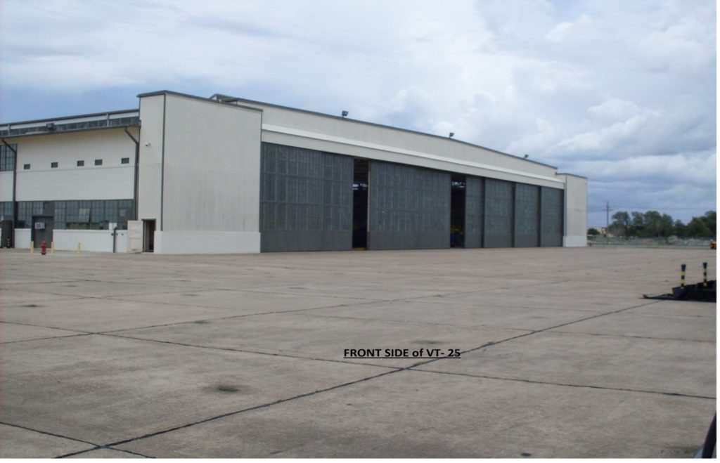 VT-25 Hangar Exterior Front