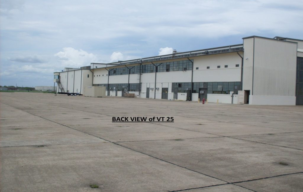 VT-25 Hangar Back View